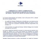 Rémunération de Georges Plassat, à la tête du Groupe Carrefour