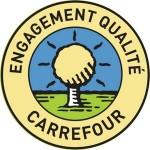 Logo engagement qualite carrefour EQC