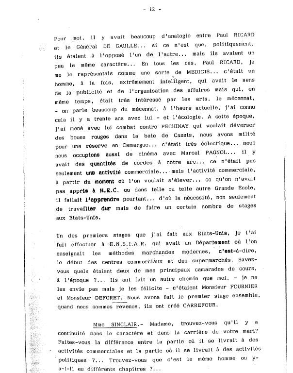 charles pasqua question a domicile 1987