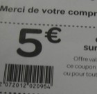 Carrefour : faux coupon de réduction