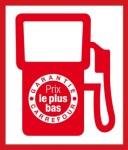 carburant carrefour garantie prix le plus bas logo