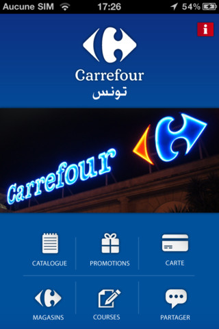 Carrefour tunisie appli