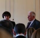 Sylvia Pinel devant l'Assemblée Générale du Conseil du Commerce de France