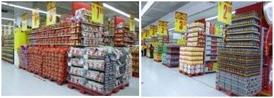 Carrefour chine Harbin Pingfang Hongqi store interieur