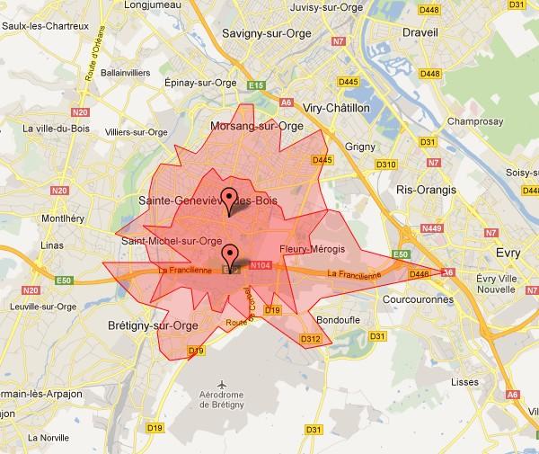 Le futur Carrefour Drive La Croix Blanche (Sainte Genevi u00e8ve des Bois) # Carrefour Ste Geneviève Des Bois