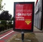 Carrefour Market V3 à Saint Pierre Les Nemours, vues de l'intérieur