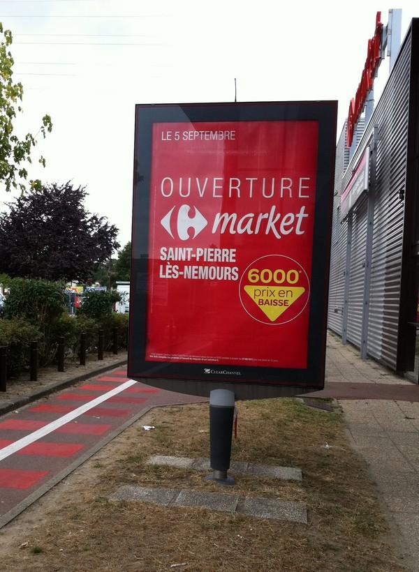 carrefour market nemours 15