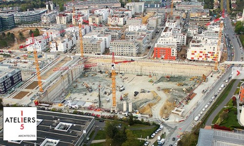carrefour siege massy construction