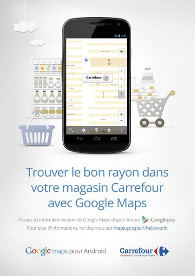 carrefour google maps