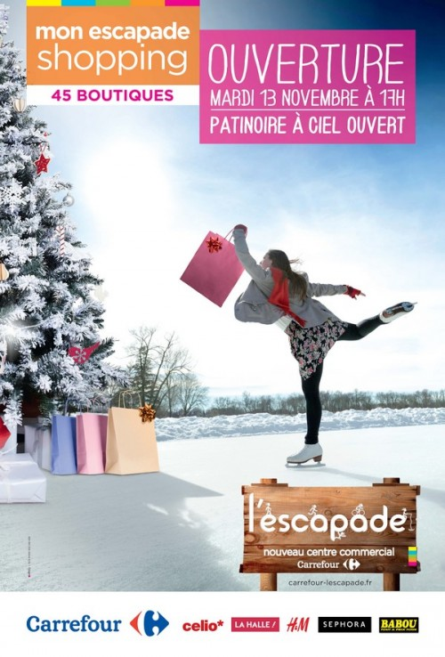 carrefour Escapade centre commercial
