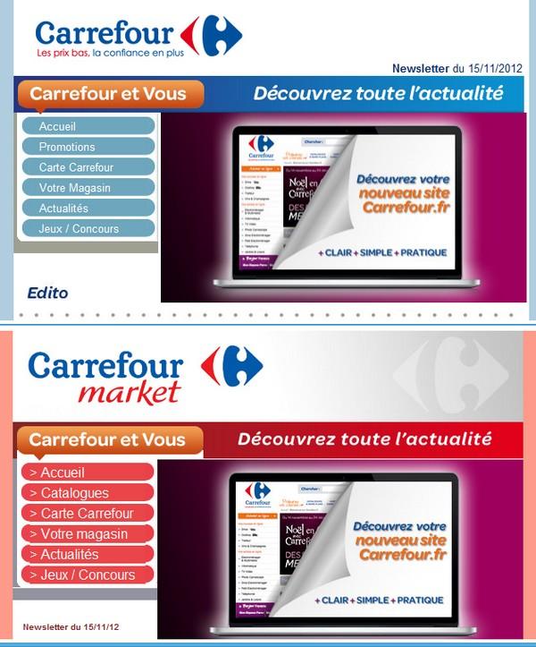 carrefour.fr nouveau site