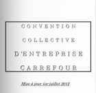 Carrefour : convention collective 2012