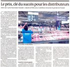 Selon Audrey Tonnelier, du Monde : « Le prix, clé du succès pour les distributeurs »