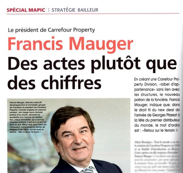 francis mauger sites coommerciaux