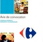 Carrefour : convocation à l'Assemblée Générale du 23 avril 2013