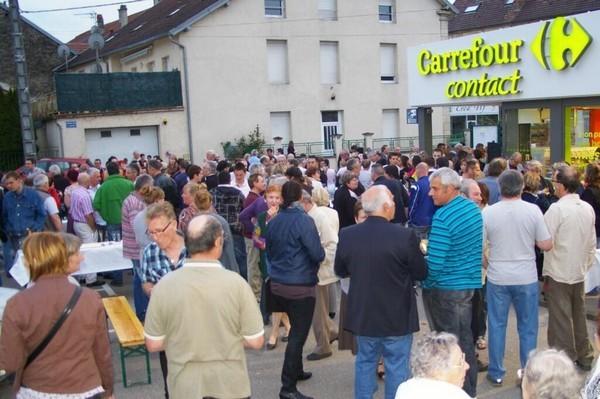 Carrefour Contact Scey-sur-Saône-et-Saint-Albin