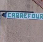 Carrefour sur la route des vacances