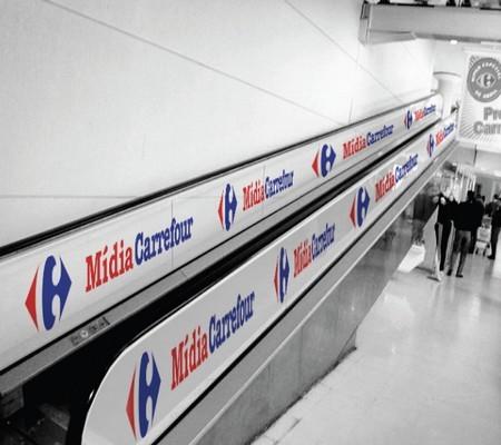 carrefour escalator
