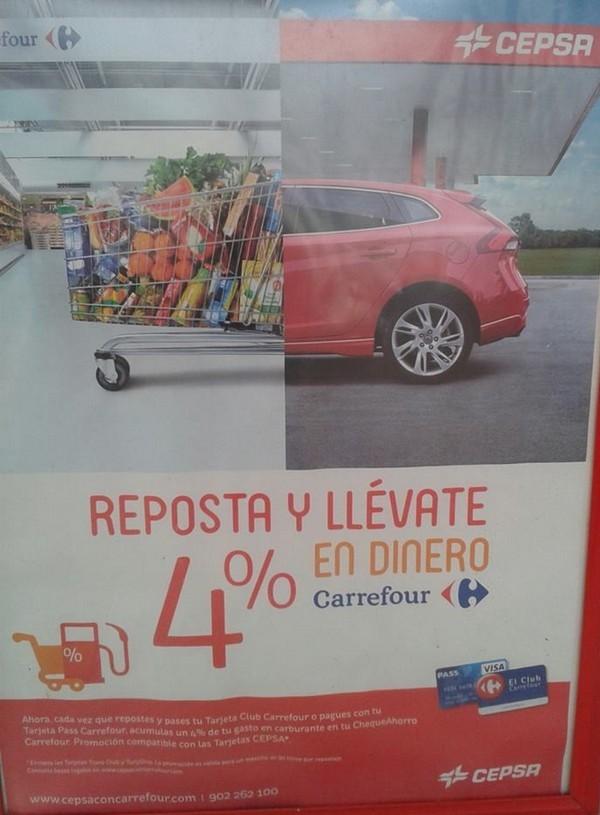 carrefrou espagne dinero