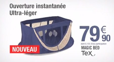 voici le magic bed carrefour - Lit Parapluie Carrefour