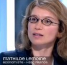 Mathilde Lemoine dans C dans l'air, l'émission d'Yves Calvi
