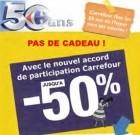 Carrefour : avec l'automne les tracs syndicaux se ramassent à la pelle