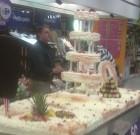 Carrefour Niort : un magnifique gâteau pour l'anniversaire