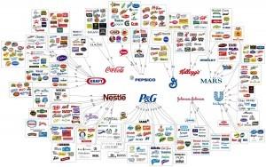 Carte des grandes marques
