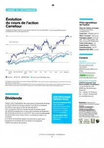 lettre aux actionnaires carrefour 2013