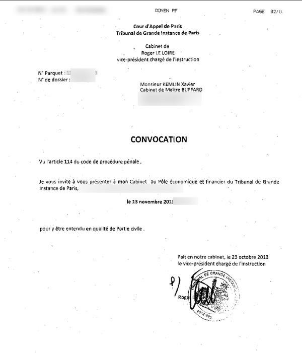 valerie xavier trierweiler kemlin plainte convocation tribunal Valérie Trierweiler