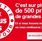 Réaction Leclerc sur 500 produits à prix… Carrefour