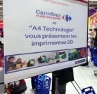 Impression 3d : Carrefour Flins à buse…