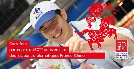 partenariat carrefour france chine