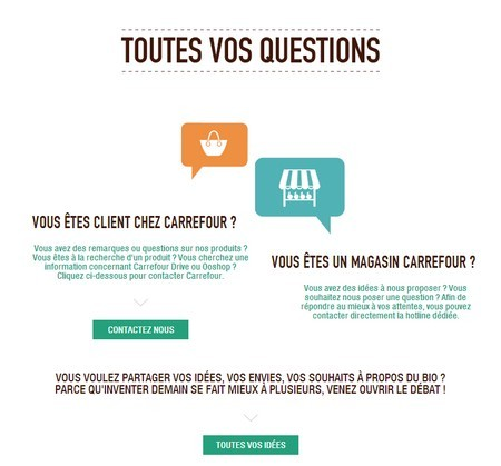 question carrefour bio