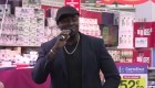 Live de Wesley, finaliste The Voice saison 3, chez Carrefour