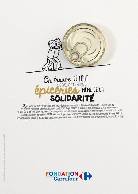 fondation carrefour épicerie solidarité