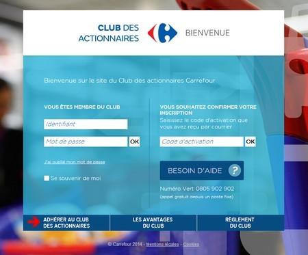 Club des actionnaires carrefour 1