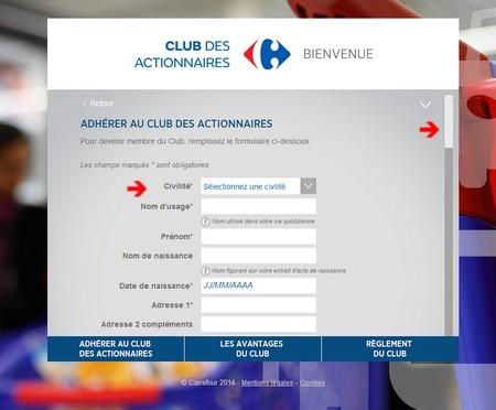 Club des actionnaires carrefour 2