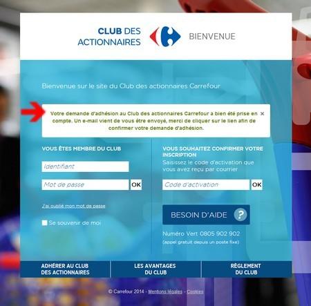 Club des actionnaires carrefour 3