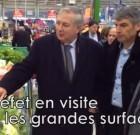 """Le préfet des Côtes-d'Armor chez Carrefour : """"C'est un appel au patriotisme"""""""