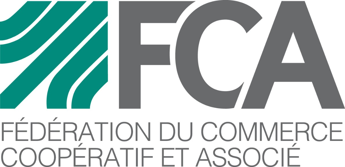 FCA federation commerce cooperatif associe new logo