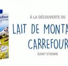 Le secret des produits Carrefour présenté à des clients