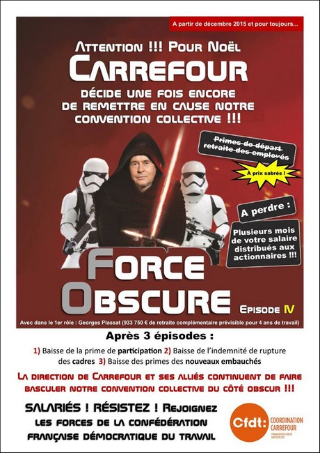 carrefour convention collective