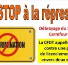 Carrefour Villabé : la pétition qui dit « Non aux licenciements des délégués CFDT »