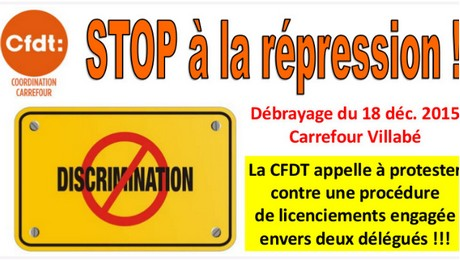 cfdt carrefour villabe