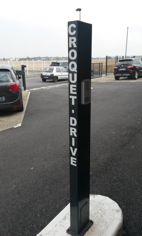 Croquette drive drives