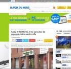 Un Carrefour Contact ferme près d'Hénin-Beaumont