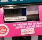 """Carrefour  : """"Ce produit est garanti au prix le plus bas"""". Et les autres ?"""