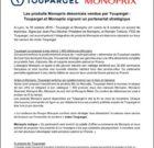 Toupargel va distribuer des produits Monoprix