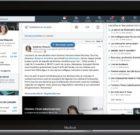 LinkedIn présente la nouvelle interface de son Récap Actu